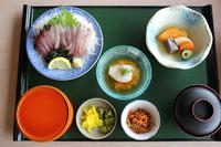 清水サバ刺身定食